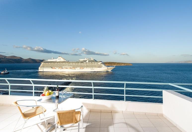 Creta Hotel, Agios Nikolaos, Apartment, Balcony, Sea View, Balcony