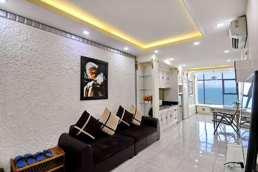 Appartamento Premier, 1 camera da letto, vista mare - Soggiorno