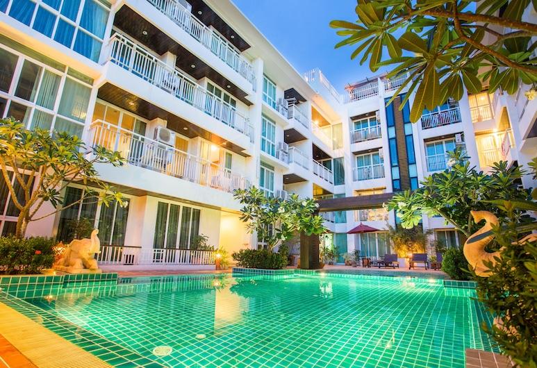 阿里薩拉廣場酒店, 蘇梅島, 室外泳池