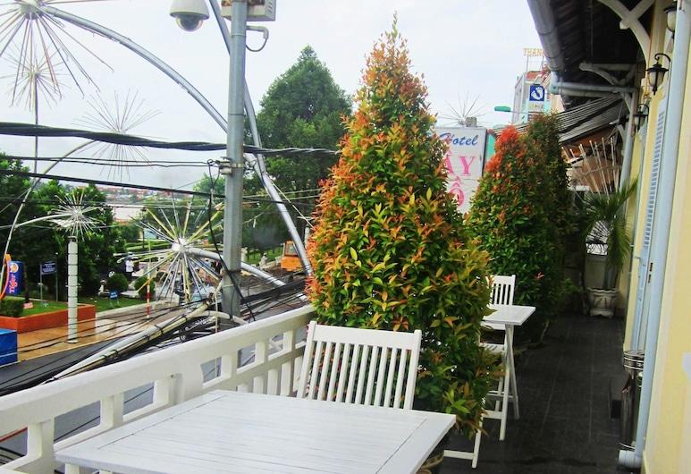 Tay Ho Hotel, Can Tho, Terasa/trijem