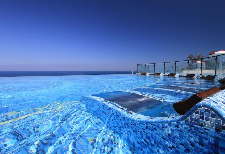H Resort, Фаншань, «Бескрайний» бассейн