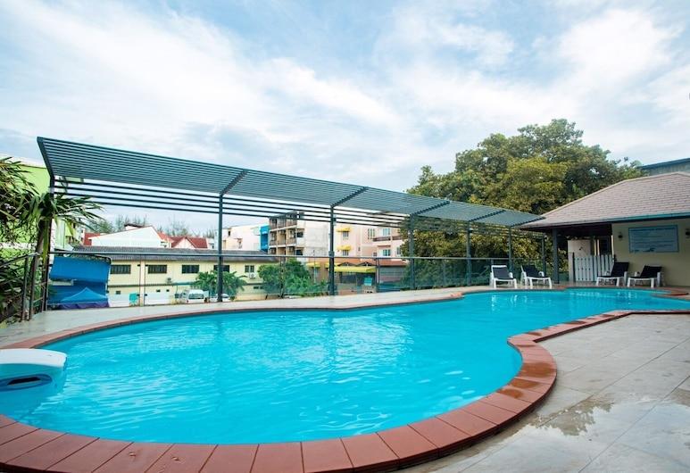 差安如家旅館, 七岩, 泳池