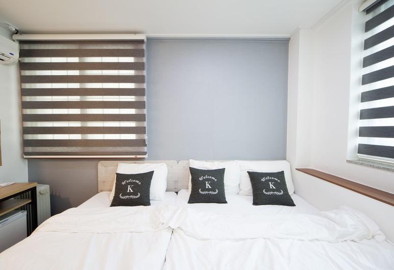 東大門 K 旅館 1 號, 首爾, 標準三人房, 多張床, 客房