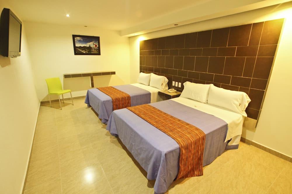 高級套房, 2 張標準雙人床 - 客房