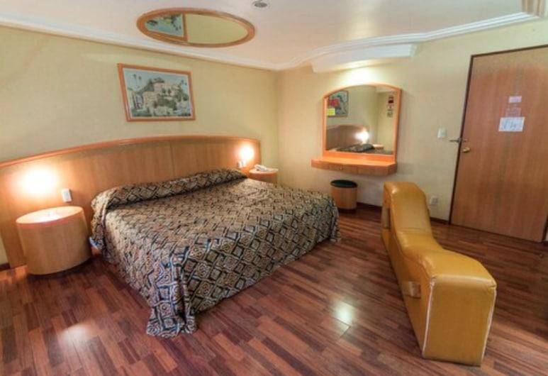 Hotel Atlante, Mexico, Chambre Standard, 1 très grand lit, Chambre