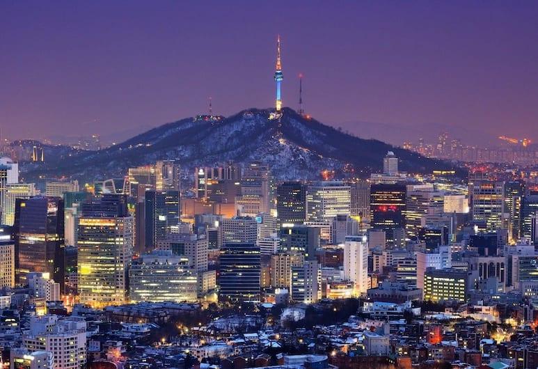 一分鐘旅館, 首爾, 酒店景觀
