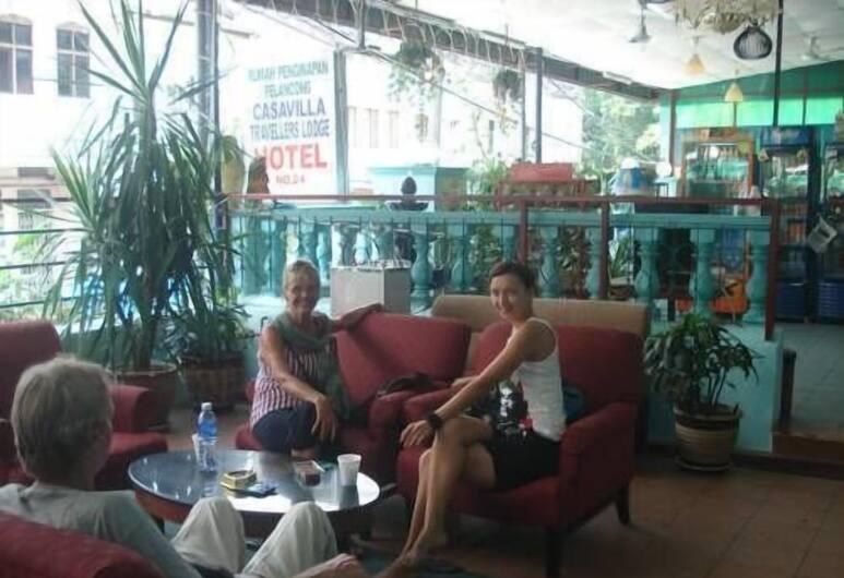 Kameleon Travellers Lodge, Kuala Lumpur, Lobby Sitting Area