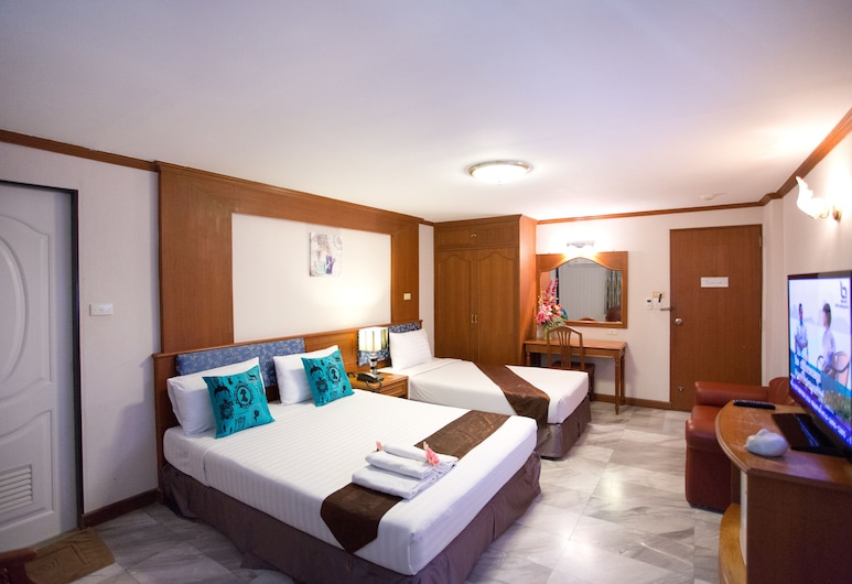 Chaipat Hotel, Khon Kaen, Rom – family, Gjesterom