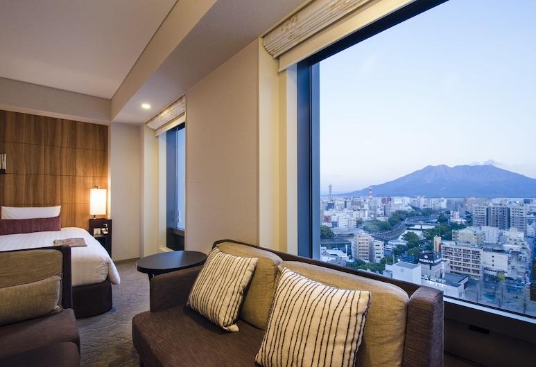Solaria Nishitetsu Hotel Kagoshima, Kagoshima, Výhled z hotelu