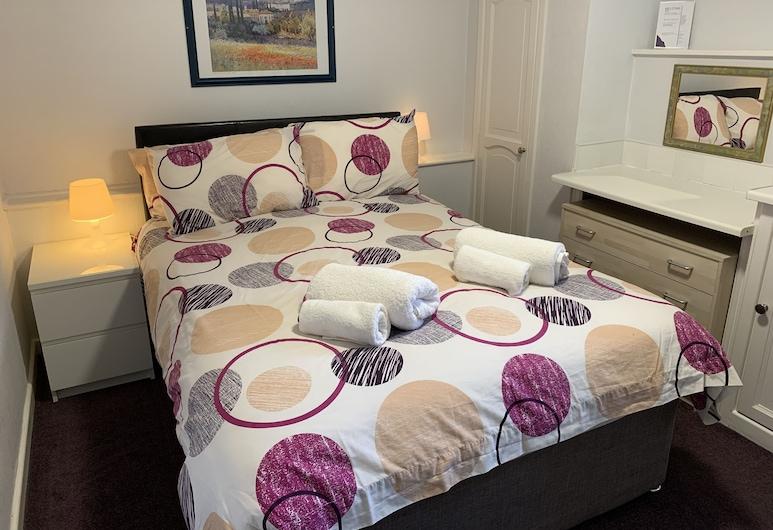 Austins Self Service Guest House, Cardiff, Economy-dobbeltværelse - fælles badeværelse, Værelse