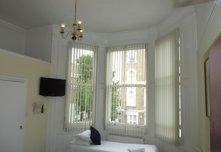 Manor Hotel, London, Tremannsrom, Utsikt fra gjesterommet