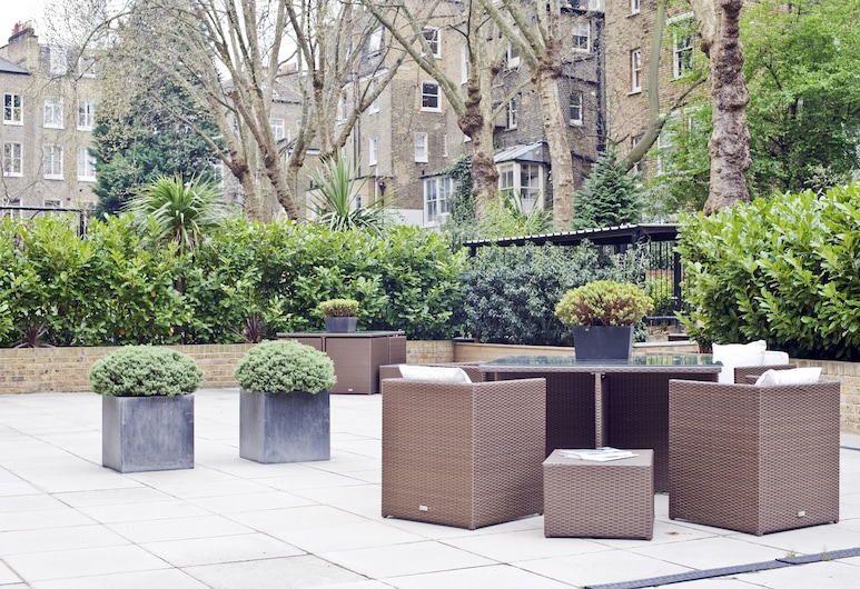 Templeton Place by Supercity Aparthotels , London, Terrasse/Patio