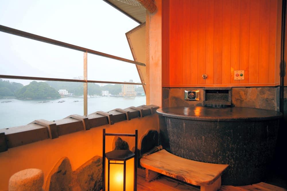 Deluxe sviit (with Open-air Bath, New Building) - Vannituba