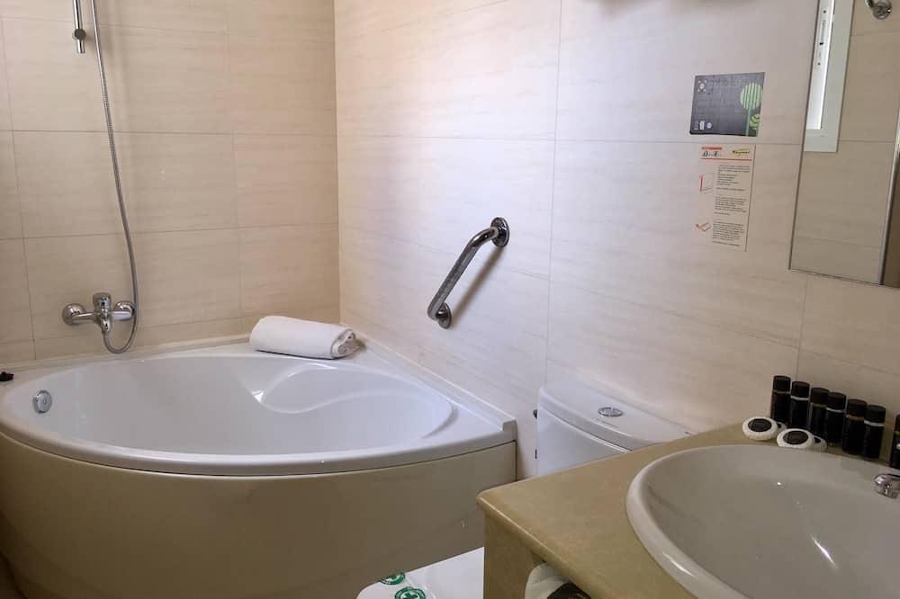 Executive szoba kétszemélyes ággyal - Fürdőszoba