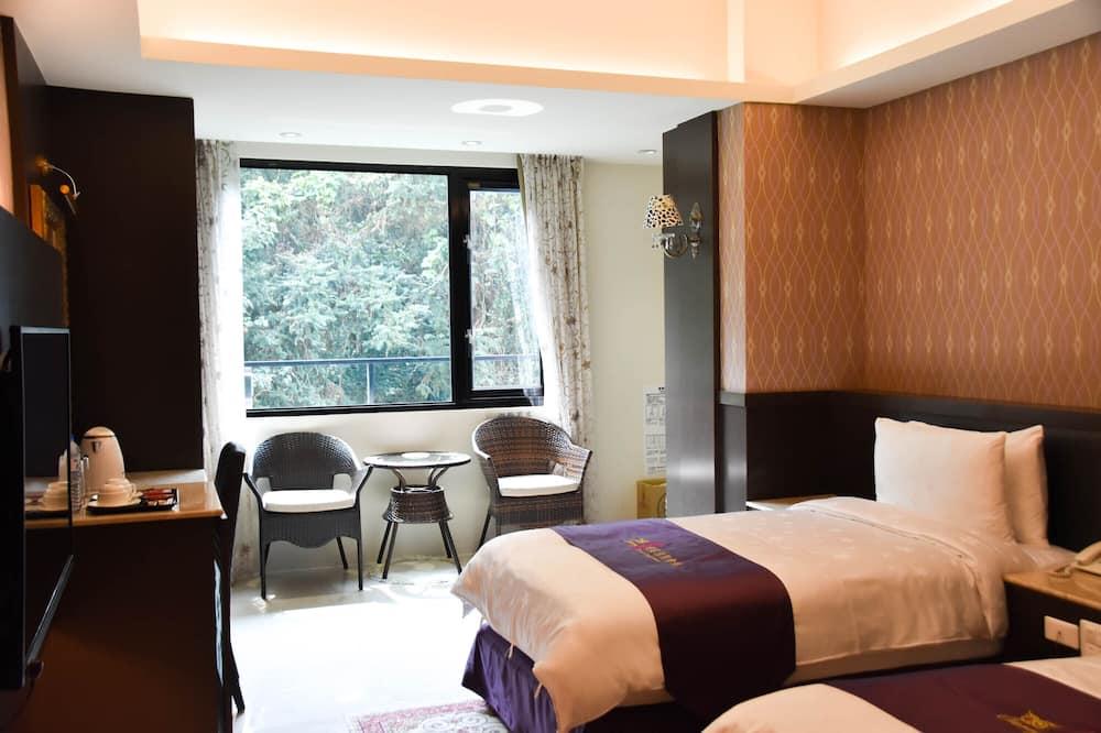 高級雙床房, 2 張單人床 - 山景