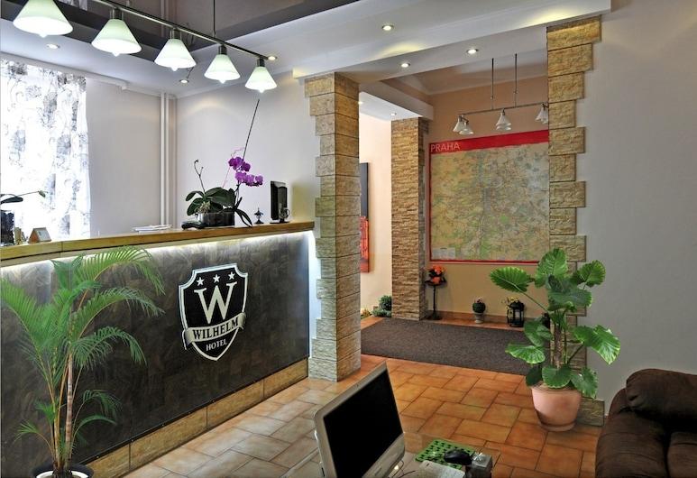 Hotel Wilhelm, Praga, Recepción