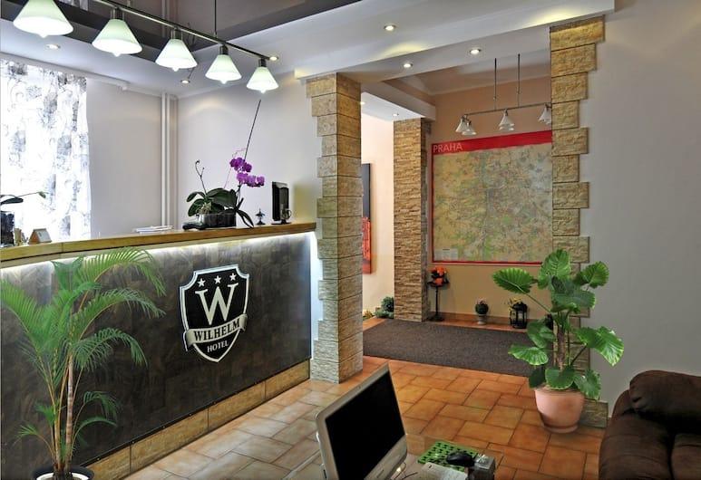 Hotel Wilhelm, Praha, Recepcia