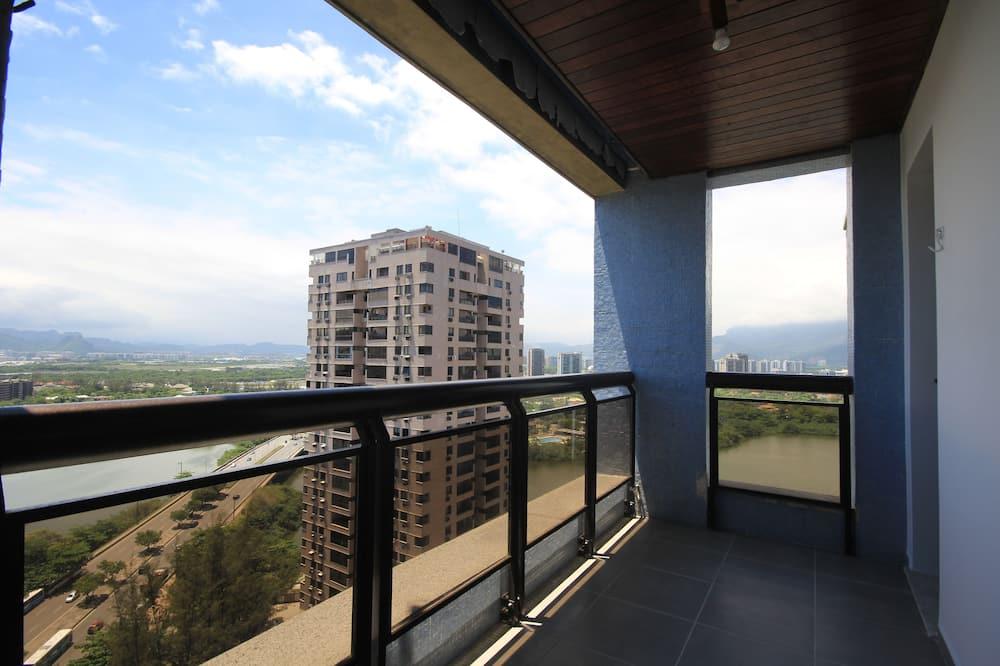 標準公寓, 2 間臥室, 廚房 - 陽台