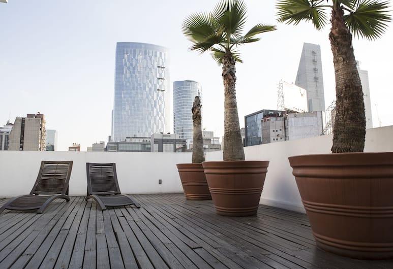 恒河套房, 墨西哥城, 頂層客房, 客廳