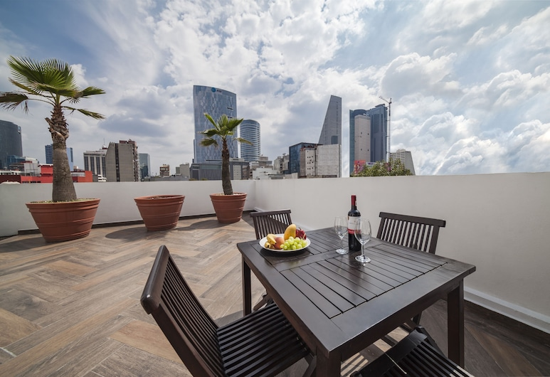 Suites Ganges, Mexico City, Penthouse, Taras/patio