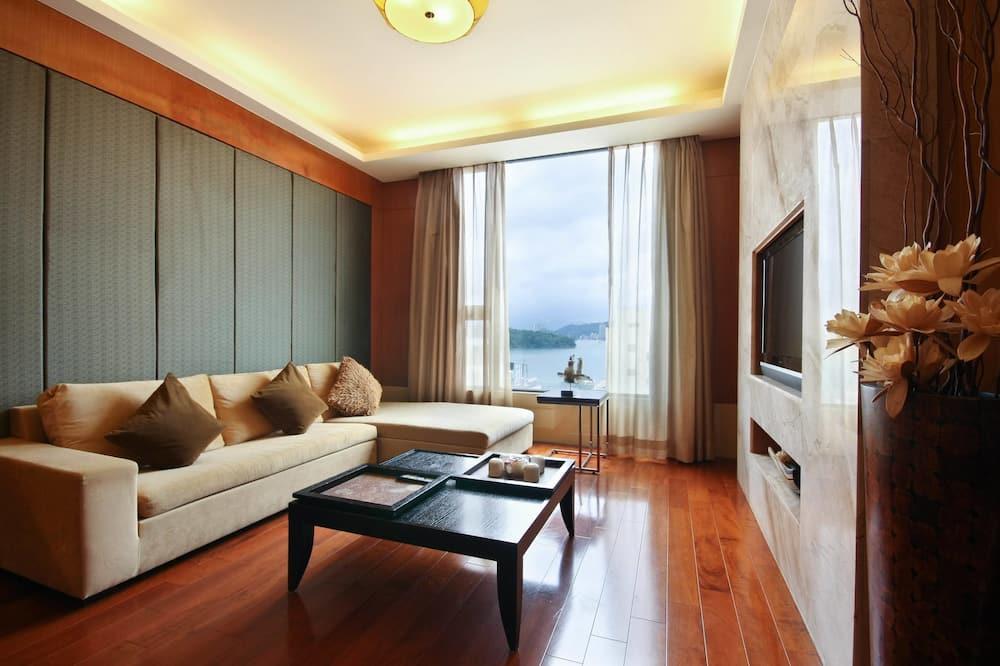 Apartament typu Suite, widok na jezioro - Powierzchnia mieszkalna