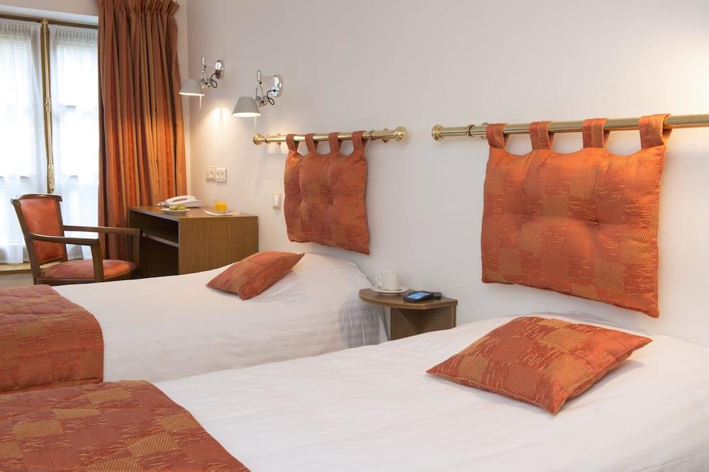 Dvivietis kambarys (2 viengulės lovos) (Single use) - Svečių kambarys