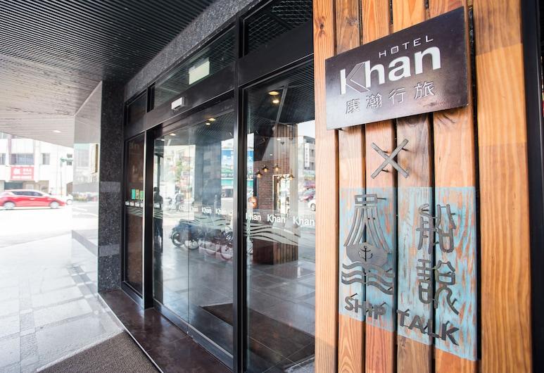 Khan Hotel, Kaohsiung, Ingresso hotel