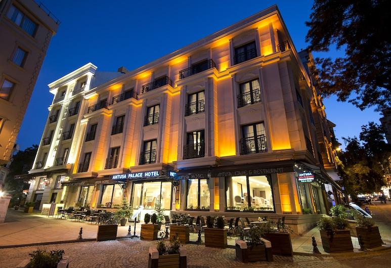 Antusa Palace Hotel & Spa, Istanbul, Hotel Front