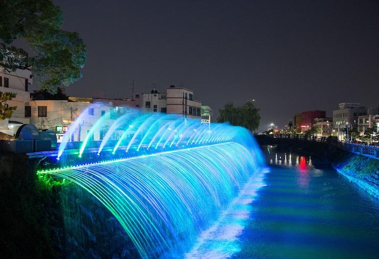 大同飯店, Jeju City, 住宿外的城市景觀