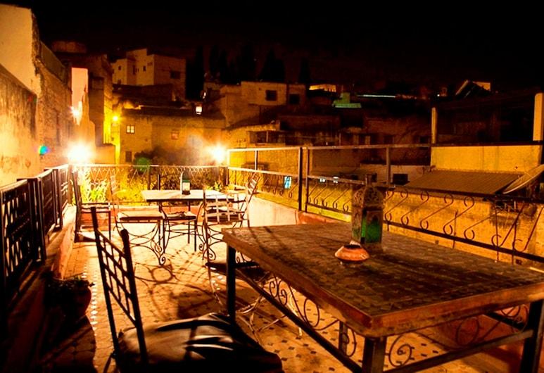 Riad Racha, Fes, ลานระเบียง/นอกชาน