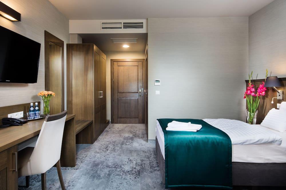 غرفة كلاسيكية مزدوجة أو بسريرين منفصلين - منطقة المعيشة