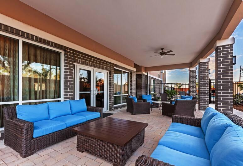 Courtyard Houston I-10 West/Park Row, Houston, Dvorište