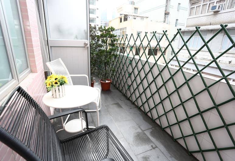 超級客棧, 九龍, 雙人房, 露台, 陽台