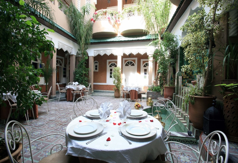 蔓藤庭院酒店, 馬拉喀什, 入口