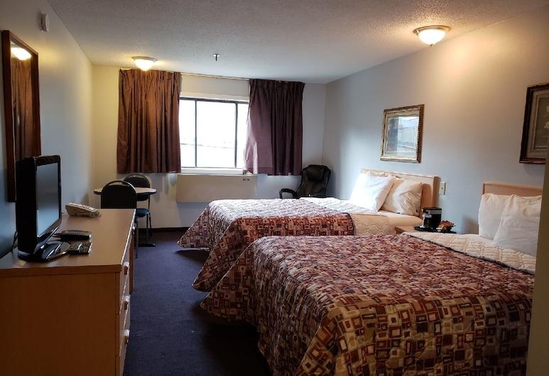Venture Inn Hotel, Saskatoon, Room, 2 Queen Beds, Guest Room