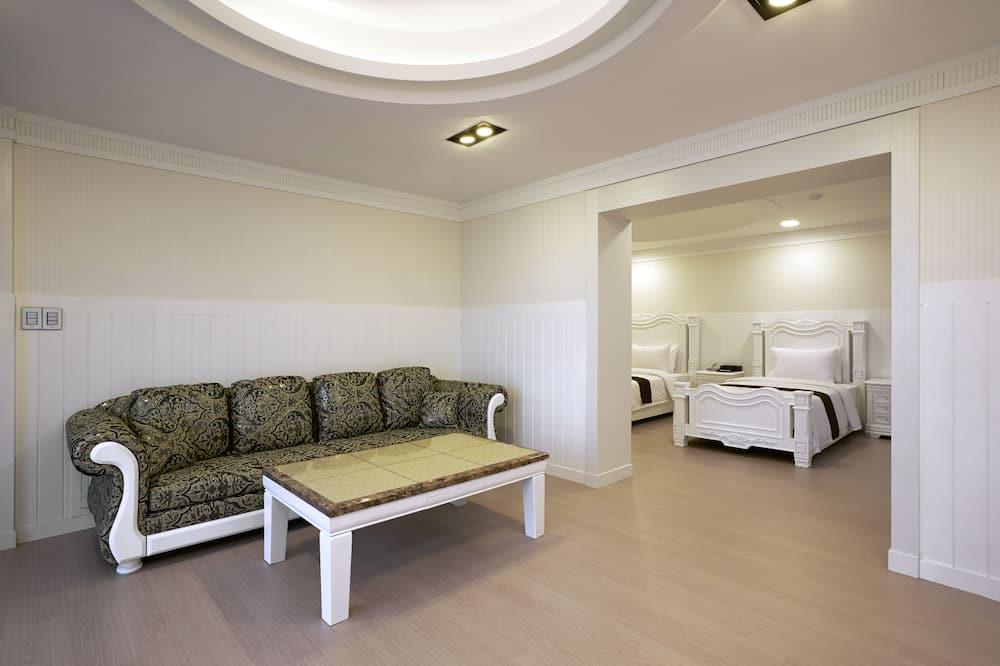 VIP Wine Party Room - Coin séjour