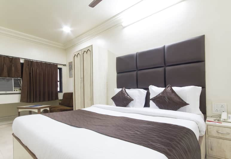 OYO 935 Hotel Palkhee, Mumbai, Štandardná izba s dvojlôžkom alebo oddelenými lôžkami, 1 dvojlôžko, súkromná kúpeľňa, Hosťovská izba