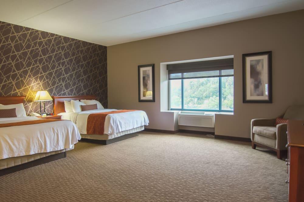 Deluxe szoba, 2 queen (nagyméretű) franciaágy - Fürdőszoba