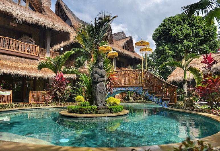 Bali Bohemia, Ubud, Piscine en plein air