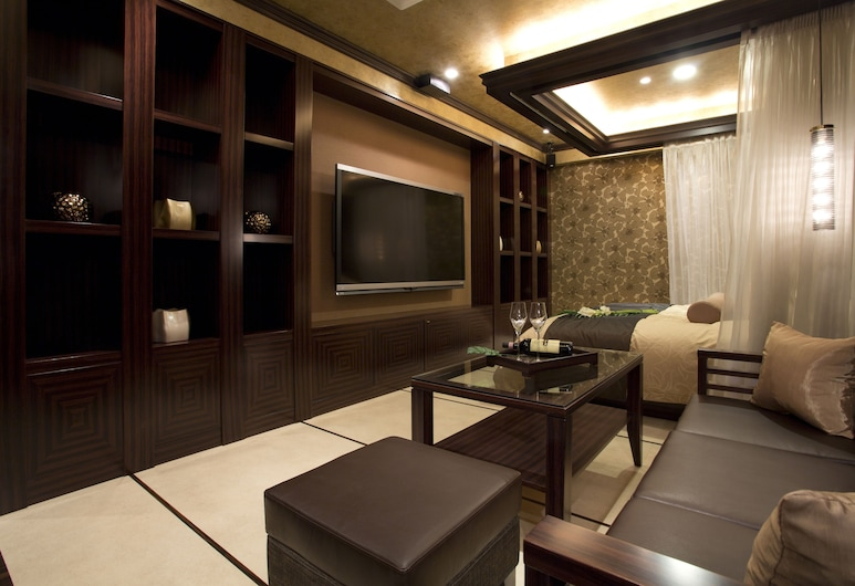 Hotel and Spa Lotus Modern – Adults Only, Kyoto, Apartmán typu Junior, Obývacie priestory