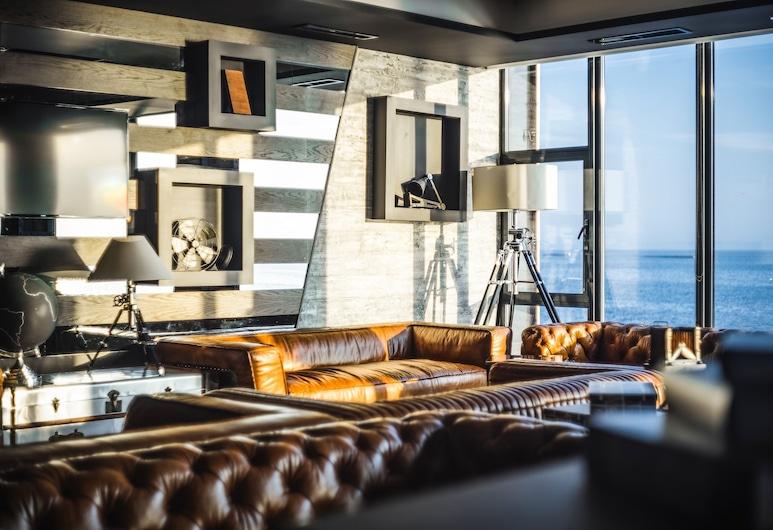 M1 club hotel, Odessa, Salon de la réception