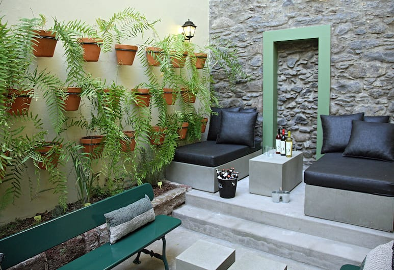 29 Madeira Hostel, Funchal, Standard-dobbeltværelse - fælles badeværelse, Terrasse/patio