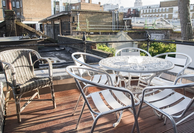 Lynton Hotel, London, Terrasse/patio