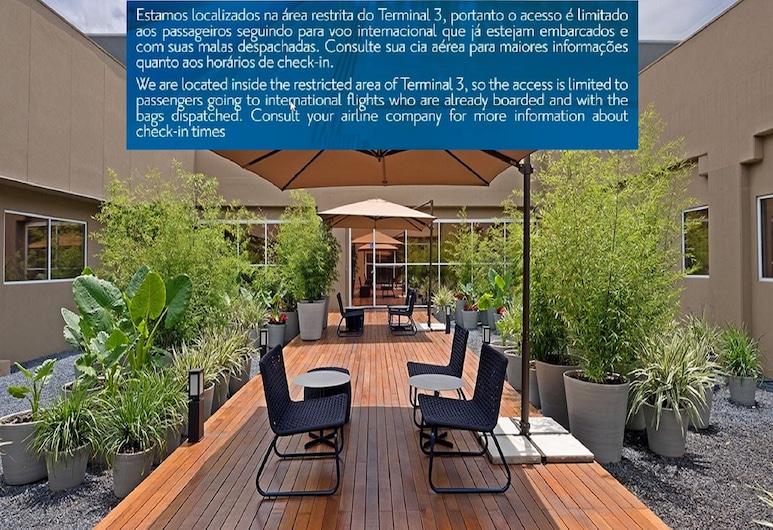 聖保羅瓜魯柳斯機場溫德姆 TRYP 酒店 - 過境酒店, 瓜魯柳斯, 花園