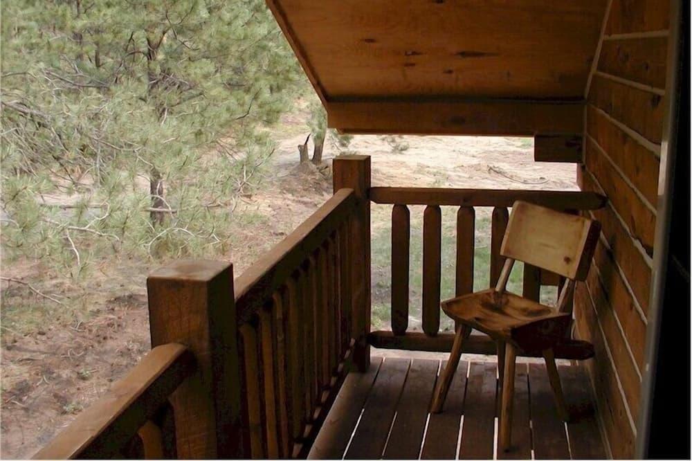 Cabaña tradicional (Papoose) - Balcón