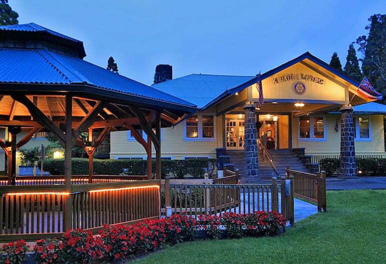 Kilauea Lodge and Restaurant, Volcano, Hotel Front