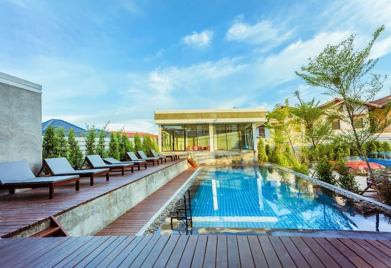 S Park Design Hotel, Vientiane, Teres/Laman Dalam
