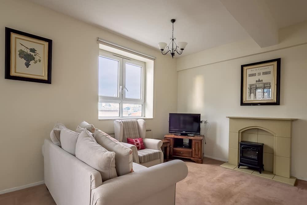 Superior-Apartment, 1 Schlafzimmer - Wohnbereich