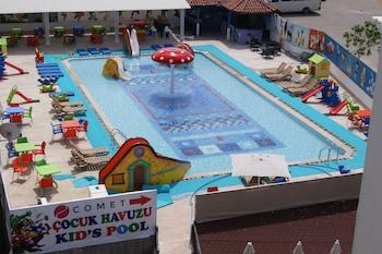 Marmaris bölgesindeki Comet De Luxe Hotel resmi
