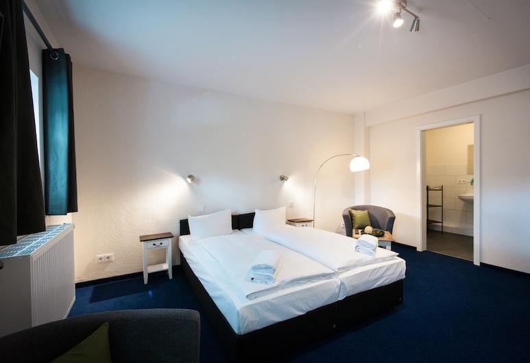 Arcade Hotel Hamburg, Hamburgas, Dvivietis kambarys su patogumais, Svečių kambarys
